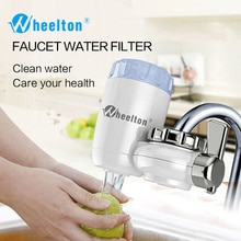 Wheelton su filtresi musluk 8 kat arıtma seramik aktif karbon ve KDF ve daha fazla ev mutfak su arıtıcısı