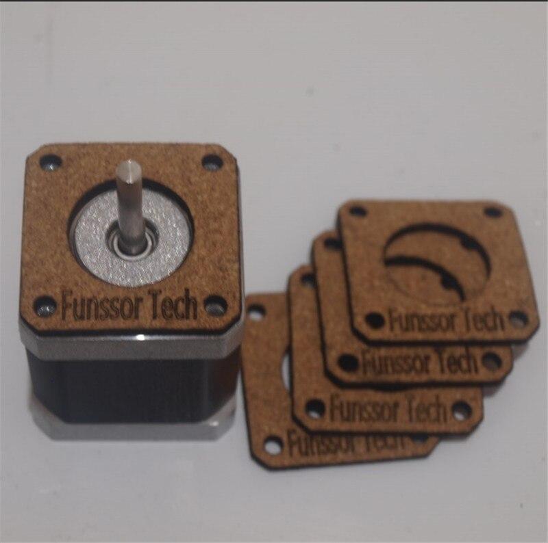 Impresora 3D NEMA 17 Motor paso a paso kit aislante amortiguador para Reprap Prusa Mendel i3