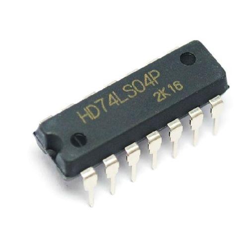 10 Uds Original HD74LS04P 74LS04P 74LS04 hexagonal inversores DIP-14 nueva