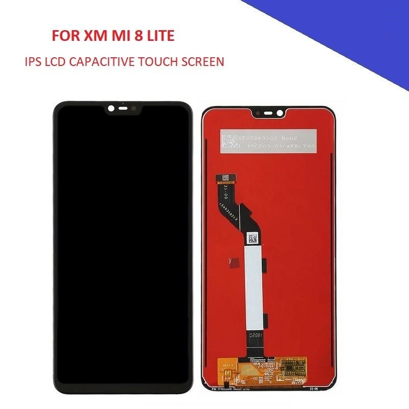 6,26 LCD pantalla para Xiaomi MI 8 Lite MI 8 LITE MI 8 Juvenil MI8 jóvenes de pantalla LCD táctil de montaje de Panel piezas de teléfono