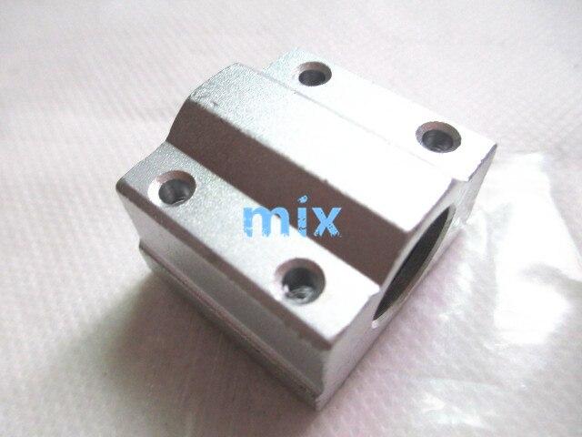 Fixmee 1 шт./лот SC8UU 8 мм шариковый подшипник линейного движения направляющая втулка линейный вал для ЧПУ
