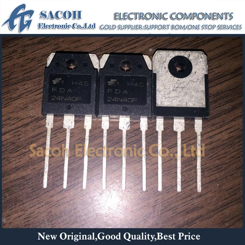 Транзистор-МОП-транзистор FDA24N40F FDA24N40 24N40 TO-3P 24A 400 В, бесплатная доставка