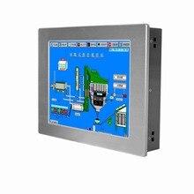 12.1 pouces touchable tout en un pc sans ventilateur panneau industriel pc soutien WIFI et 3G sans fil