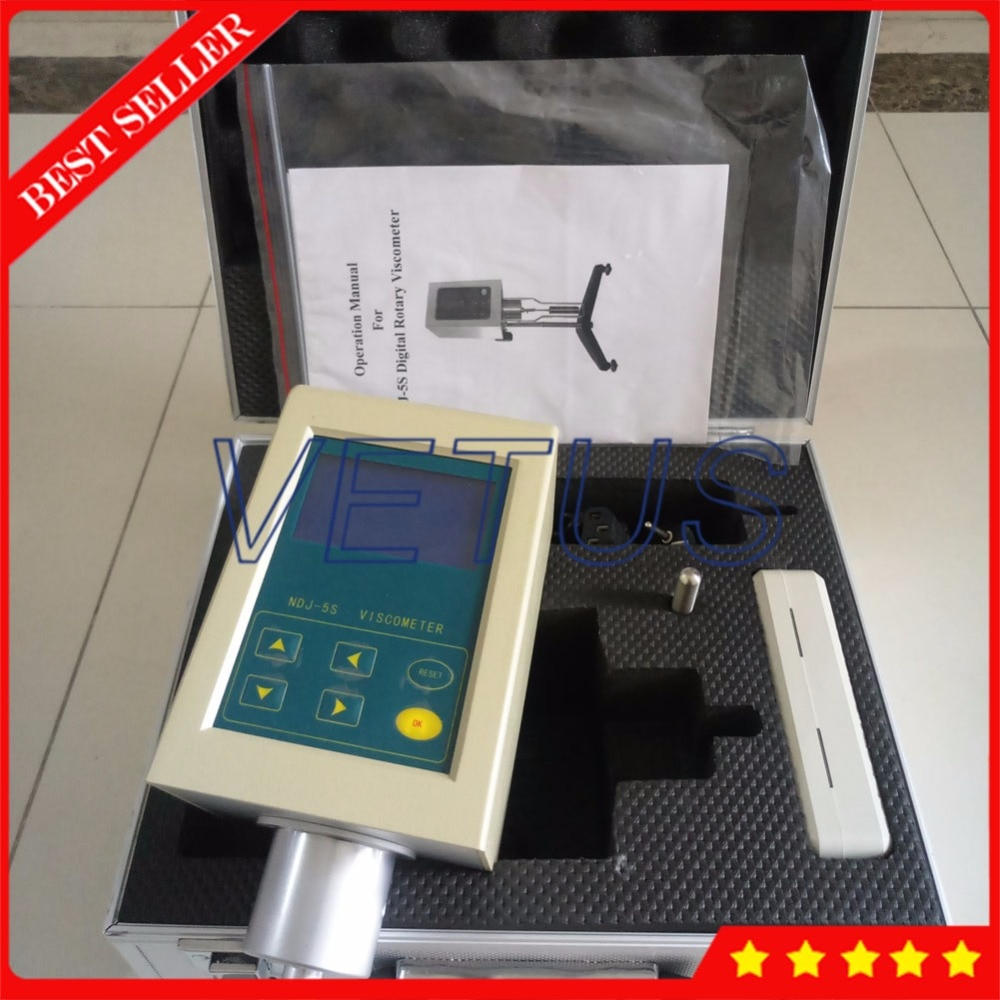 NDJ-5S digitale rotationsviskosimeter Viskosität tester