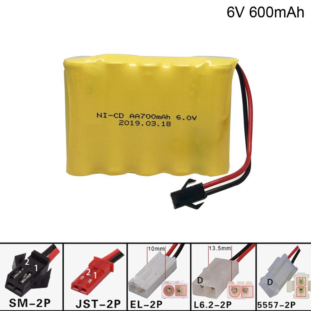 6 v 700 mah AA NI-CD M Batterie für Elektrische spielzeug RC auto schiff roboter AA 6 v 700 mah batterie spielzeug zubehör freies verschiffen