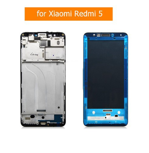 for Xiaomi Redmi 5  Middle Frame LCD Supporting Faceplate Bezel Housingfor  Redmi 5 back coverReplac