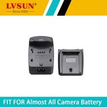 LVSUN EN-EL1 EN EL1 ENEL1 chargeur universel de batterie pour appareil photo/adaptateur de voiture pour Nikon Coolpix 4300 5400 5700 775 4500 4800 5000