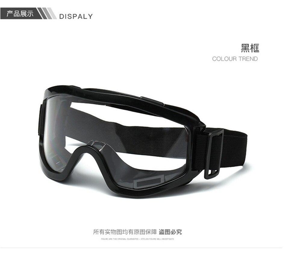 Черные очки для мотокросса Oculos для мотокросса внедорожный BMX для катания на лыжах мотоциклетные очки мото страйкбол Пейнтбольный шлем очки