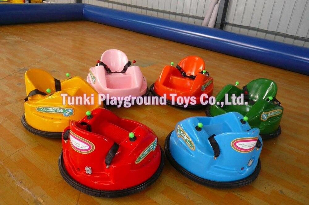 Парк развлечений, детская езда UFO из нержавеющей стали, надувная сеть, бампер, автомобиль
