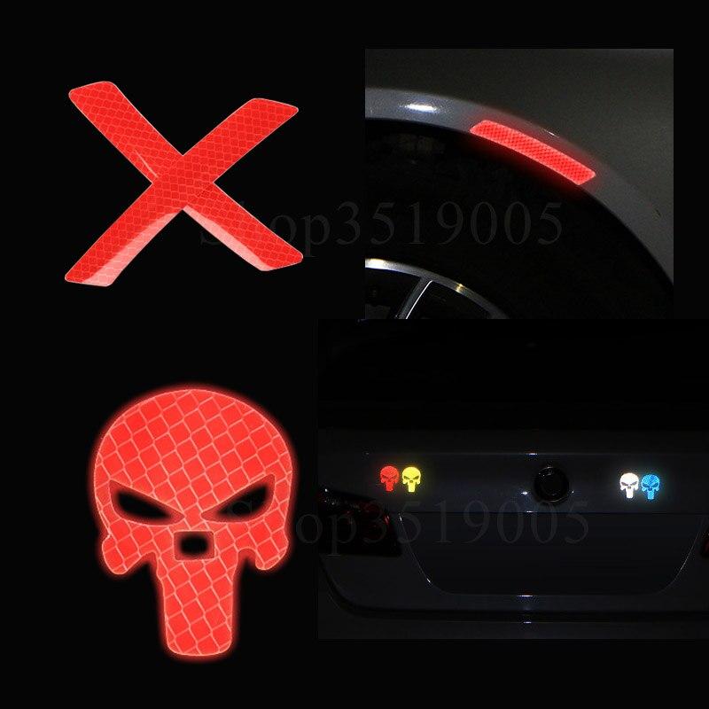 Porta ABERTA Do Carro Adesivos Auto Marca De Segurança de Advertência Reflexivo Adesivos Para Audi A4 B5 B6 B7 B8 B9 A8 S8 D2 D3 D4 A1 A3 S3 A5 S5 RS5