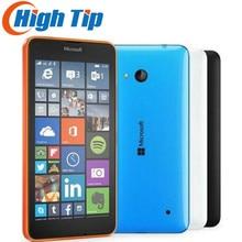 Unlocked orijinal Nokia Microsoft Lumia 640 dört çekirdekli 8GB ROM 8MP Windows cep cep telefonu LTE 4G 5.0 inç yenilenmiş dropship