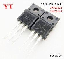 100 pz/lotto 2SA2222 2SC6144 50pcs A2222 + 50pcs C6144 IC Best qualità.