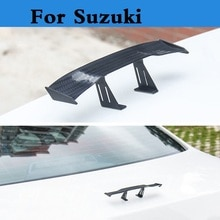 Autocollant daile arrière pour Suzuki   Mini modèle de voiture, becquet daile arrière pour Suzuki Ignis Jimny Kei Kizashi Liana Reno Splash Swift SX4 jumelle Verona