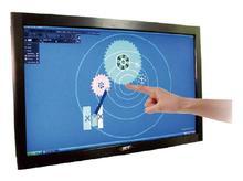 Xintai touch 43 polegada multi ir kit de sobreposição da tela toque 10 pontos verdadeiramente toque infravermelho painel quadro da tela toque