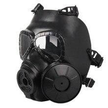 Paintball Gun Spiel Helm Outdoor Air Gun Doppel Ativirus Filter Taktische Armee Verdampft Helm