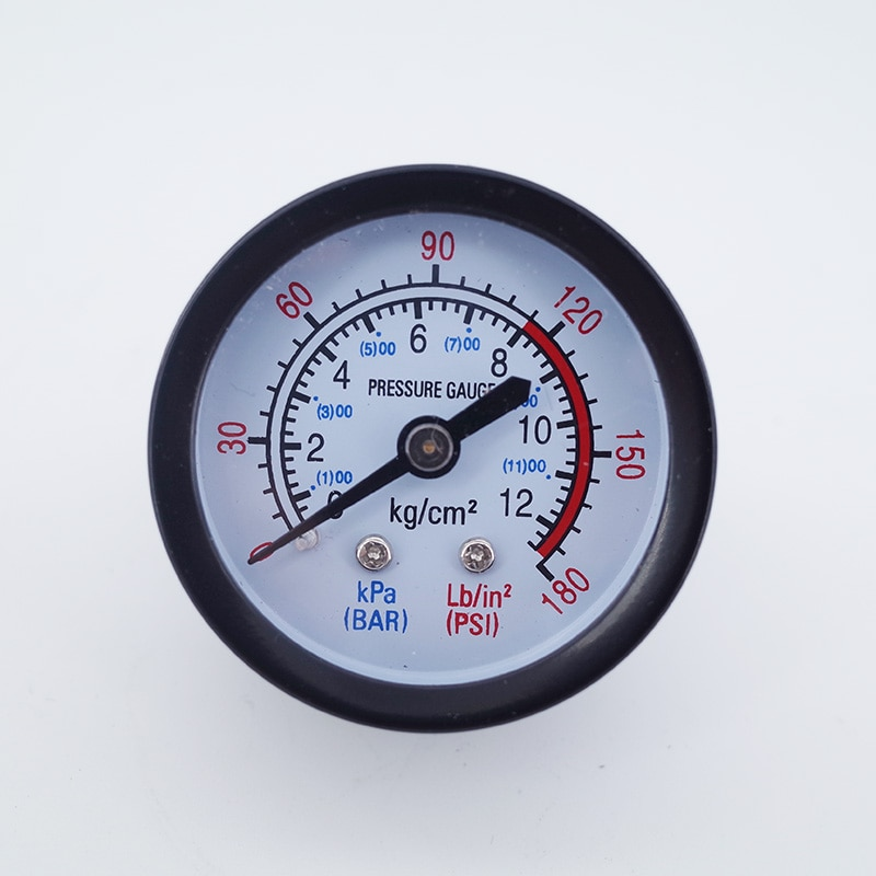 """2,5 P 3P5P Stille öl freies kleine luft kompressor teile tabelle 40mm 50mm druck che 0-180psi 0-12bar gewinde 1/8 1/4 """"eisen shell"""