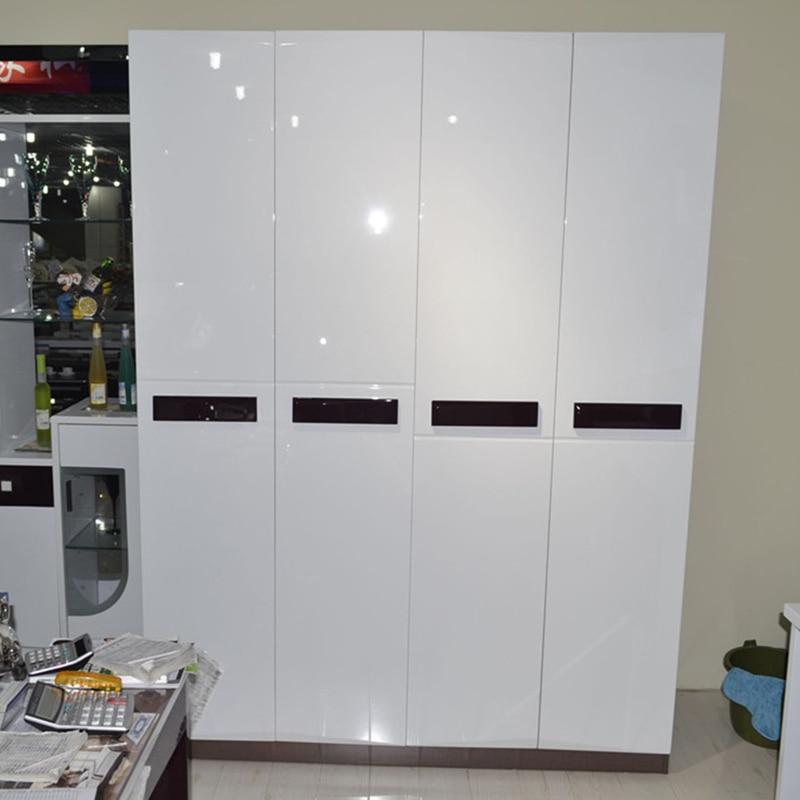 ورق جدران من الفينيل PVC ذاتي اللصق ، ورق حائط زخرفي لامع ذاتي اللصق ، قابل للإزالة ، لخزائن المطبخ ، مقاوم للماء ، DIY