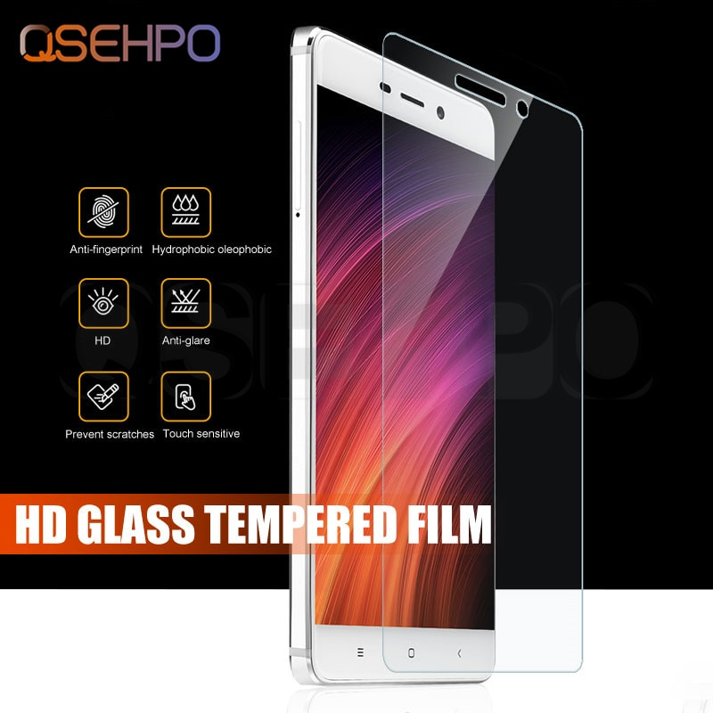 Tempered Glass For Xiaomi Redmi 4 4X 5A 6A 6 Pro 5 Plus Screen Protector For Redmi Note 4 4X Note 5
