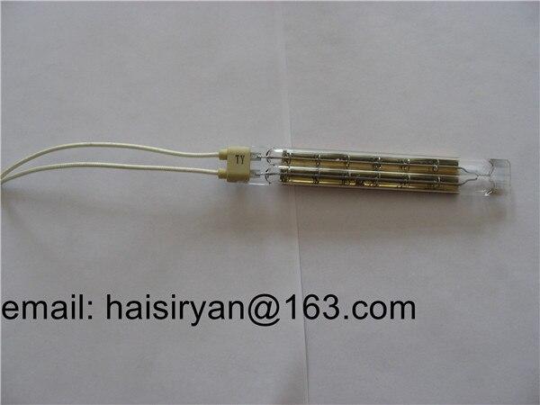 Calentador infrarrojo de cuarzo lámparas de calentamiento halógenas para grabado en relieve