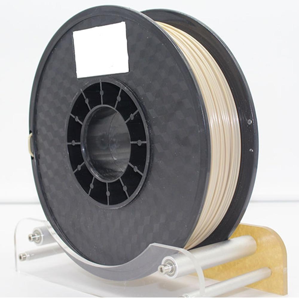 FLEXBED PEEK Hohe Temp Exotische Filament 1,75mm, Wärme Beständig 3D Druck Filament, Natürliche Farbe, 0,5 kg für 3D Drucker