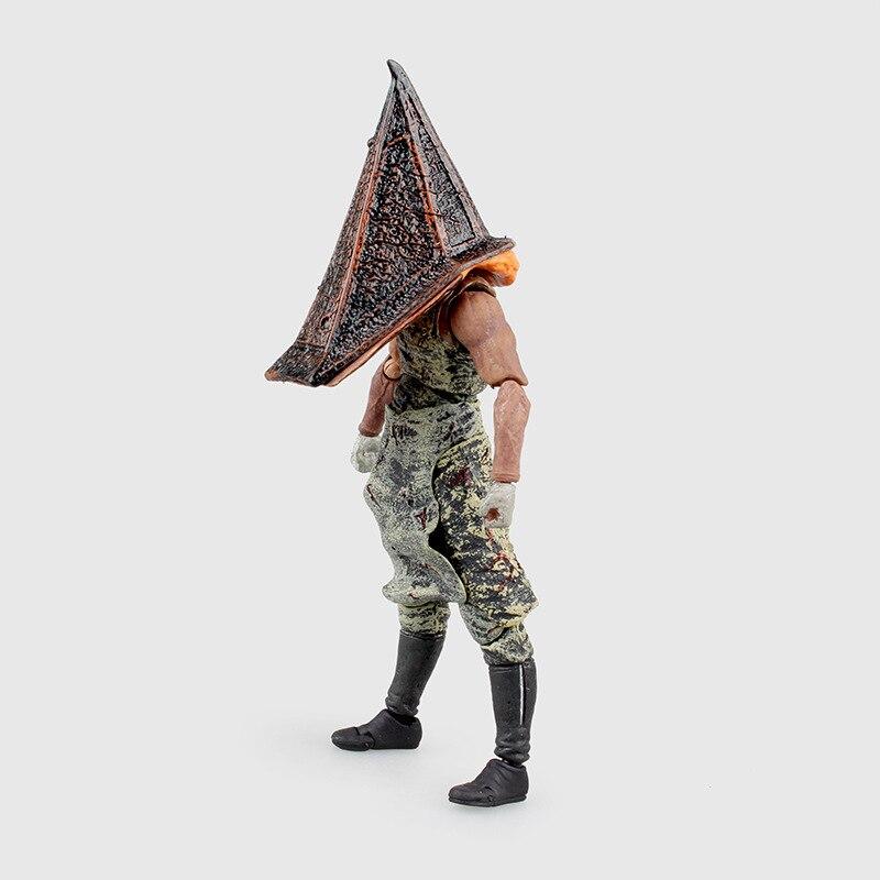 Silent Hill Figma pirámide cabeza roja pirámide cosa PVC MODELO DE figura de acción de juguete