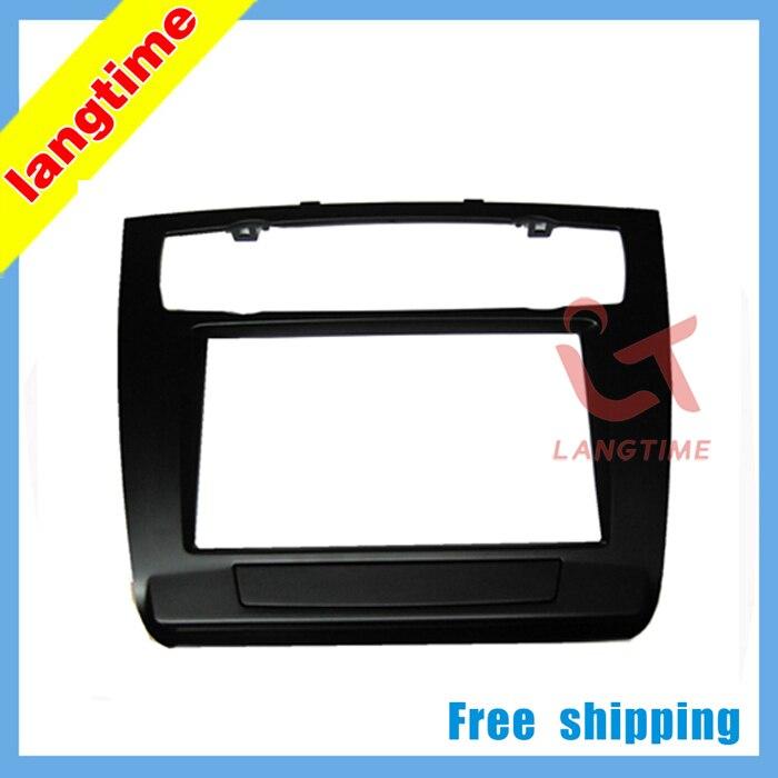 Car refitting DVD frame,DVD panel,Dash Kit,Fascia,Radio Frame,Audio frame for 07 BMW 1, 2DIN