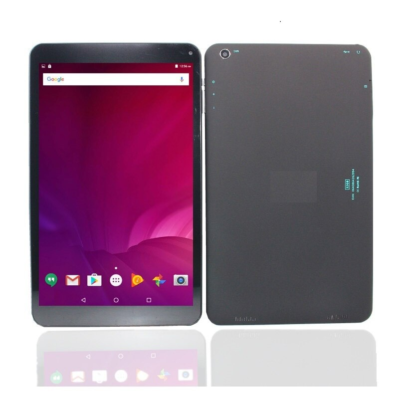 Glavey 10.1 polegada c805 mtk8163 tablet android 6.0 wifi 1gb + 32gb quad-core 1280*800pixels câmera dupla preto tablet pc