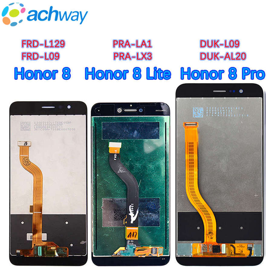 Para Huawei honor 8 pro lcd honor v9 pantalla lcd Digitalizador de pantalla táctil para Huawei honor 8 Lite pantalla táctil LCD para el Honor 8 lcd