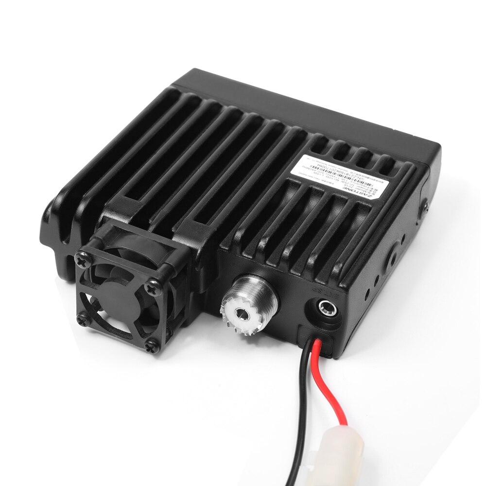 Zastone Z218 Mini Car Walkie Talkie 10KM 25W Dual Band VHF/UHF 136-174mhz 400-470mhz 128CH Mini Mobile Radio Station CB Radio enlarge