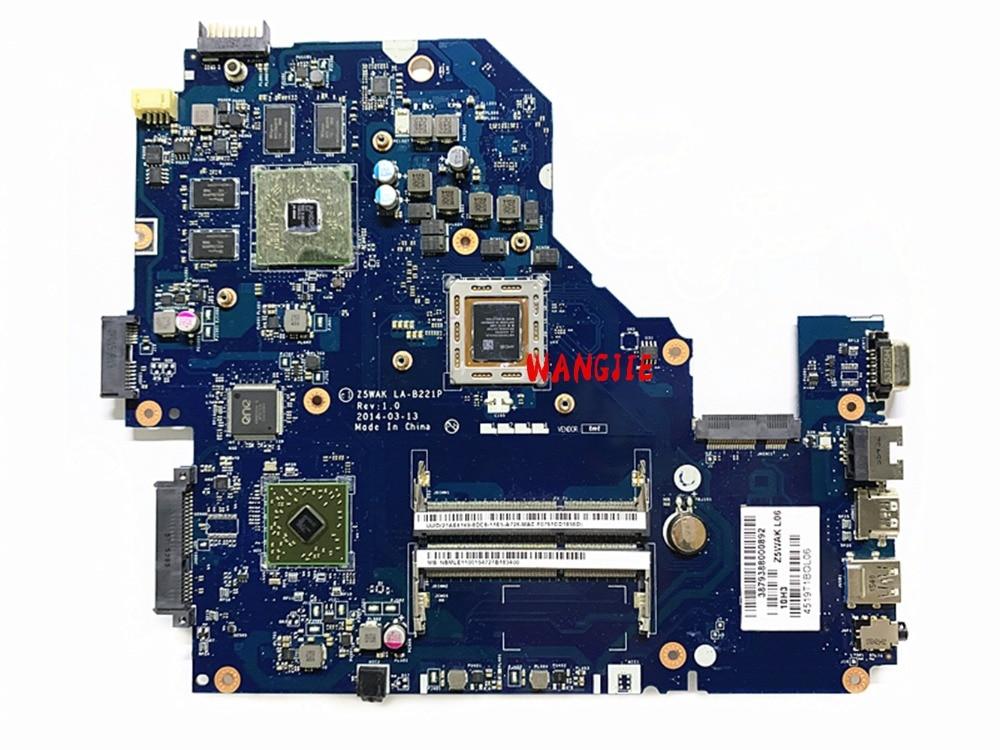 NBMLE11002 carte mère Dordinateur Portable pour Acer aspire E5-551G Z5WAK LA-B221P A8-7100 R7 M265 2G 100% entièrement testé