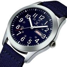 DEERFUN sport montres hommes de luxe marque armée militaire hommes montres horloge mâle Quartz montre Relogio Masculino horloges mannen saat