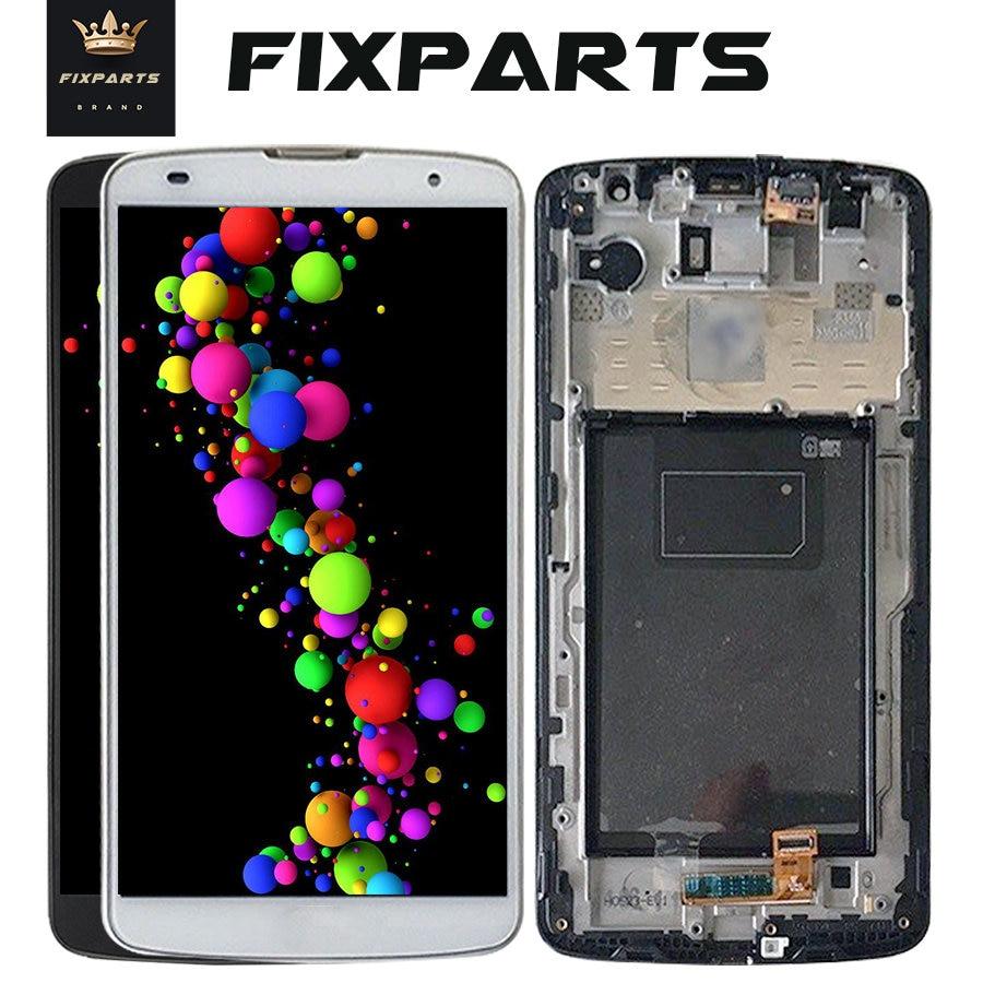 "Negro para 5,9 ""LG Optimus G Pro 2 F350 LCD pantalla táctil digitalizador montaje con marco para LG d837 D838 pantalla + herramientas"