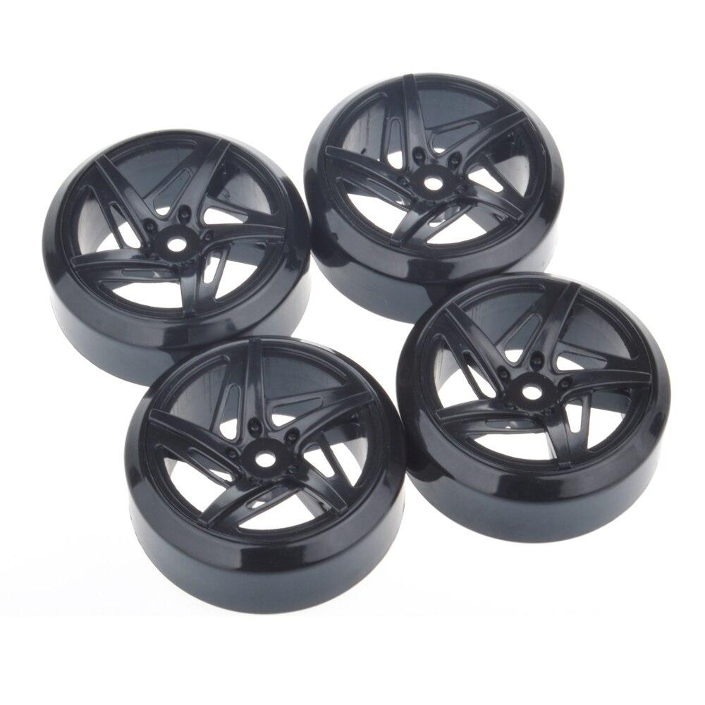 1/10 conjunto de pneus de roda de tração rc para traxxas hsp tamiya hpi kyosho em estrada deriva cas rc veículo parte