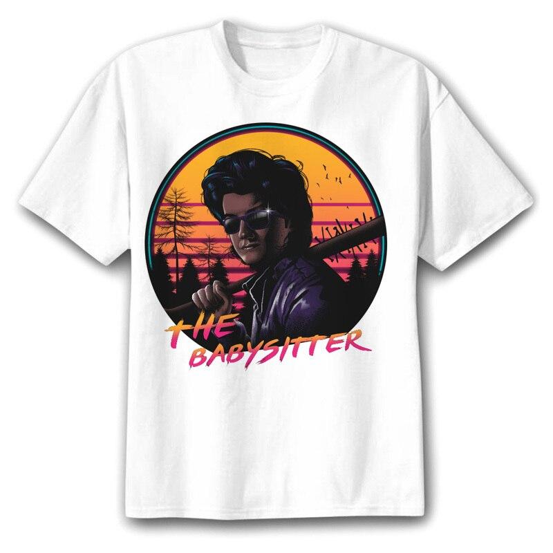 Футболка eleven Dusten stranger-things, мужская летняя футболка hawkins, футболка demogorgon