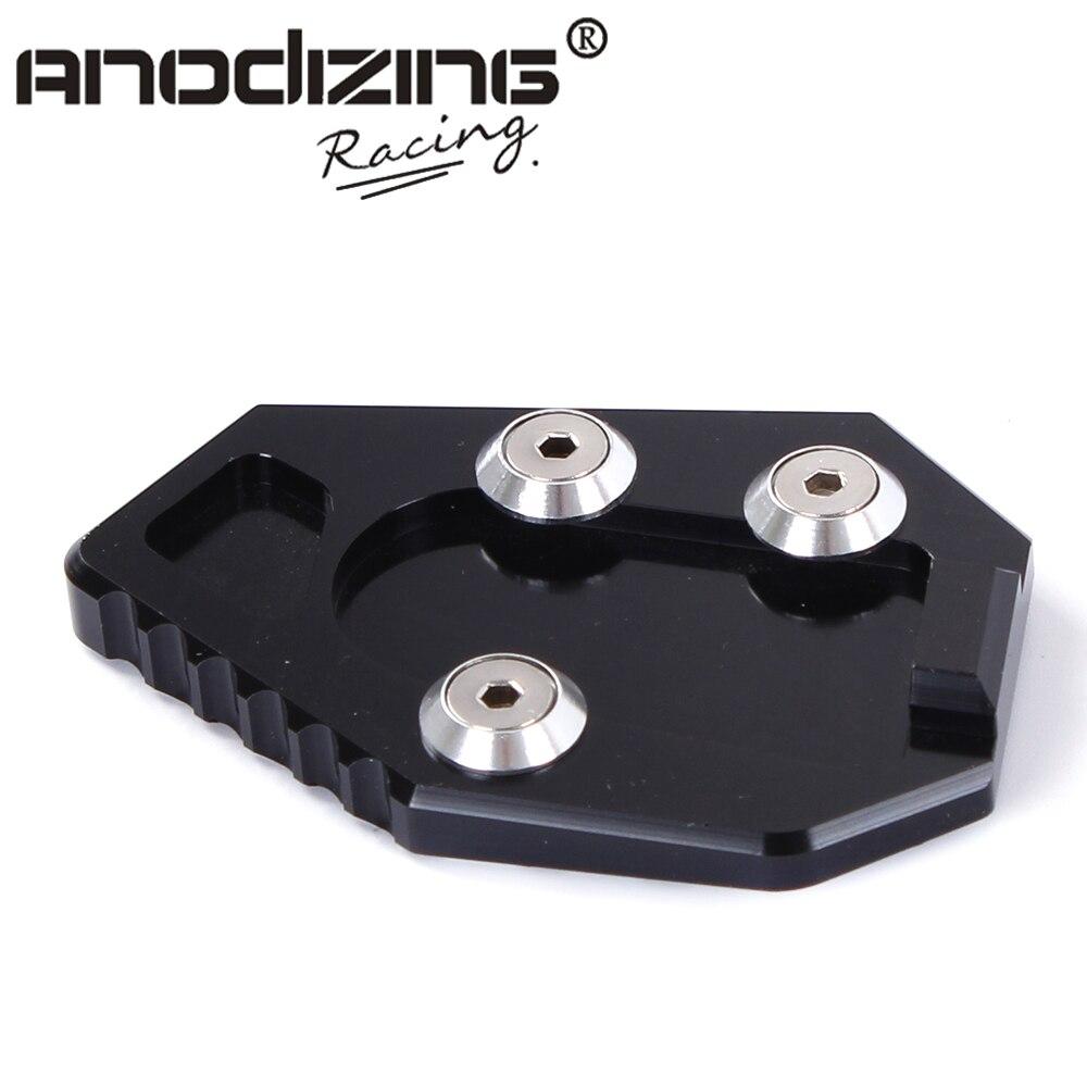 Aluminio CNC soporte lateral para motocicleta de la ampliación de la placa de soporte de extensión para HONDA CB1000R 2008-2016