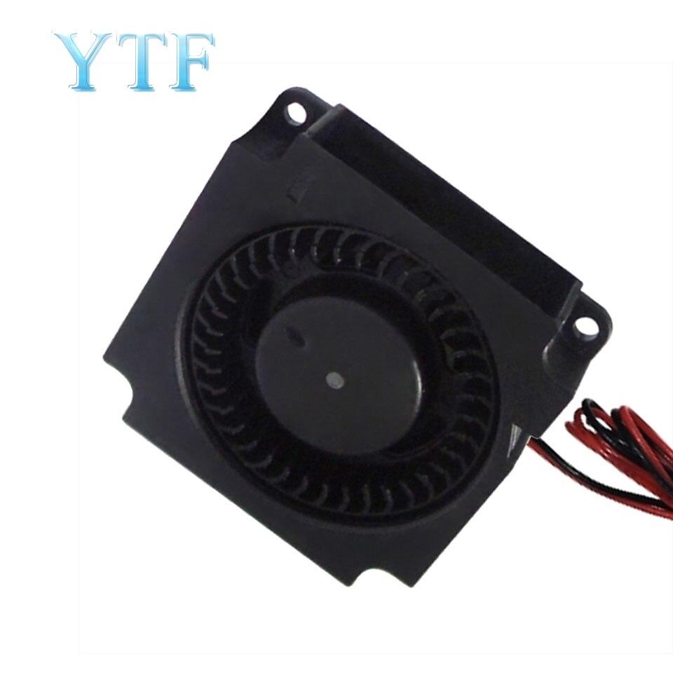 Ventilador da turbina da impressora 3d 5v 12v 24v 40mm * 10mm 4010 ventilador do turbocompressor da c.c. 5v que carrega ventiladores refrigerando radiais para o jogo de creality CR-10