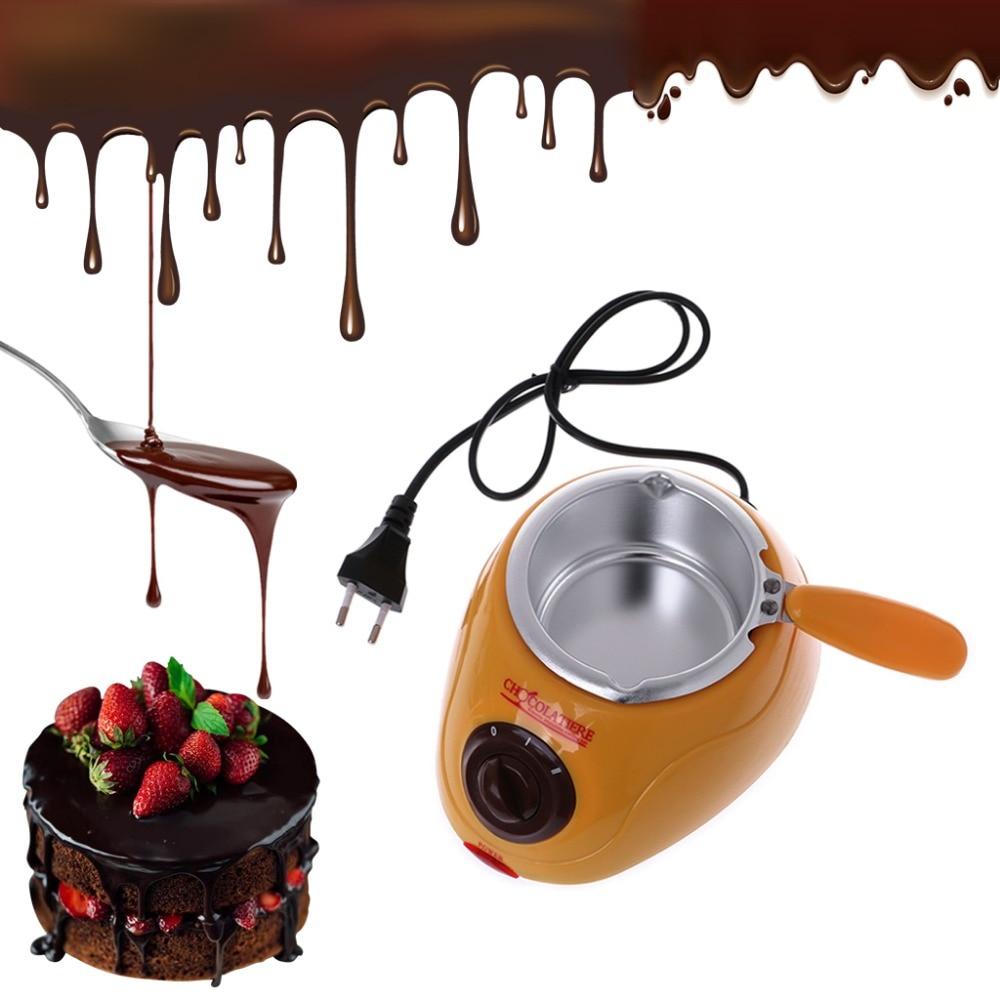 وعاء صهر الشوكولاتة ، 220-230 فولت ، تسخين كهربائي ، أداة مطبخ