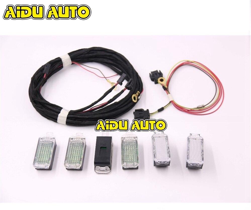 Световая коробка для перчаток со светодиодными лампами для Audi Q5 A4 B8 S4 B8 Q5 A5