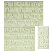 m0179 sugarcraft letternumber silicone mold fondant mold cake decorating tools chocolate mold kitchen baking mould