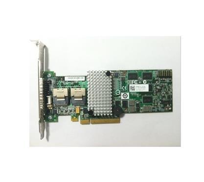 Avago LSI MegaRAID SAS 9260-8i 8 port 512MB caché 6Gb RAID5 PCI-E 2,0 X8 controlador de tarjeta de 2xSFF8087 a SATA * 4 Cable