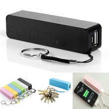 Mini Portable USB External Power Bank Case Pack Box 18650 Battery Charger 2600mAh No Battery Powerba