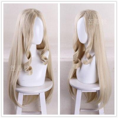 Mt señora peluca Cosplay de Halloween juego pelo Facial