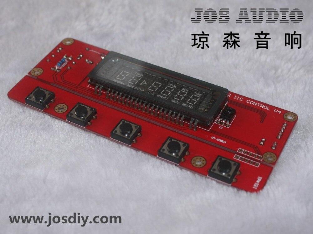 ترقية VFD للوحة التحكم الدوارة CD ، بروتوكول SAA7327 IIC I2C
