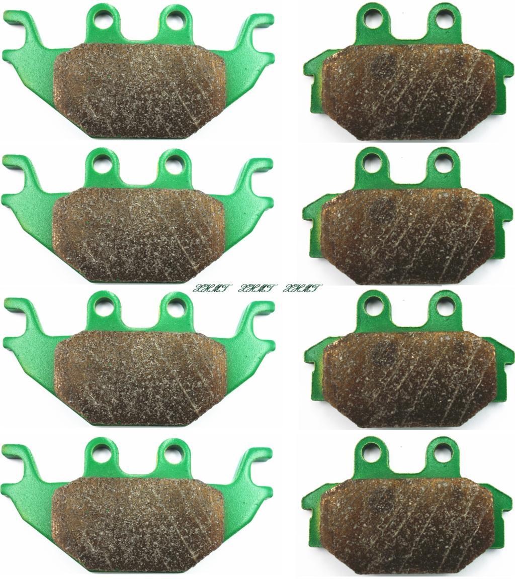 Juego de pastillas de freno para Arctic Cat Atv 250 de 2x4 2006 4X2007, 2008/2009/Tgb Atv Gunner 550 4x4 Objetivo 2010, 2011 de 2012