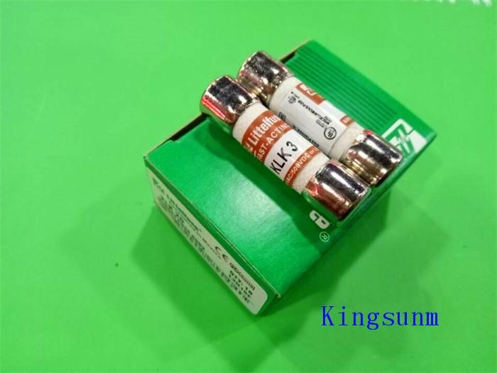 Free shipping  10pcs KLK 3 fuse 10X38 3A Littelfuse 600VAC