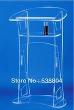 Envío Gratis acrílico escritorio atril de acrílico barato atril envío gratis de plexiglás DE LA ESCUELA podio perspex púlpito claro tribuna