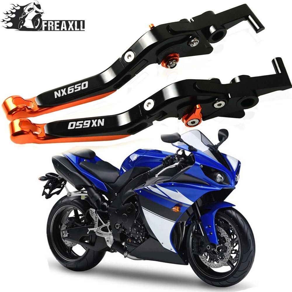 Motorcycle Handlebar Brake Clutch Levers Adjustable Folding Extendable For Honda NX650 NX650J-XDOMINATOR NX 650 1988-1999