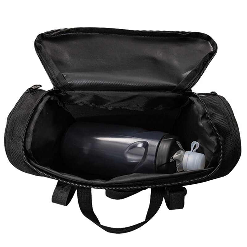 Bolsa de manillar de bicicleta 3L, funda de bolsa de Alforja de barra delantera MTB Ciclismo de Carretera 400D, bolsos para Mapa de PVC, soporte de botella para teléfono, accesorios