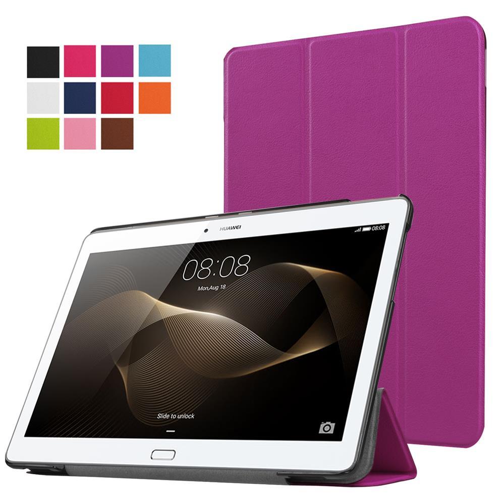 "Funda magnética ultrafino para HUAWEI MediaPad M5 8,4 ""PU cuero soporte Smart Tablet lujo 9H Vidrio Templado"