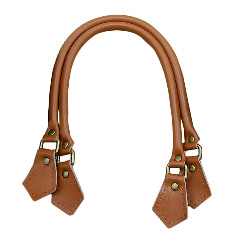 2Pcs 60cm High Quality Bag Rope Strap Real Cow Leather Handles for DIY Parts Genuine Handle Accessories